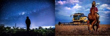 Fotógrafos do Brasil e da Argentina retratam o campo e vencem prêmio sulamericano