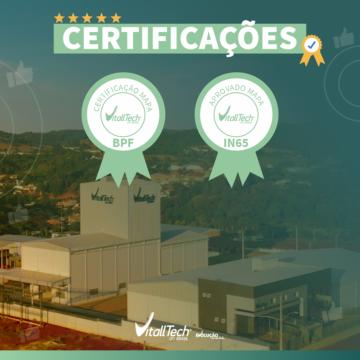 VitallTech do Brasil conquista as certificações BPF e IN-65