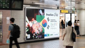 Exportadores promovem maior ação de imagem já realizada na Coreia do Sul